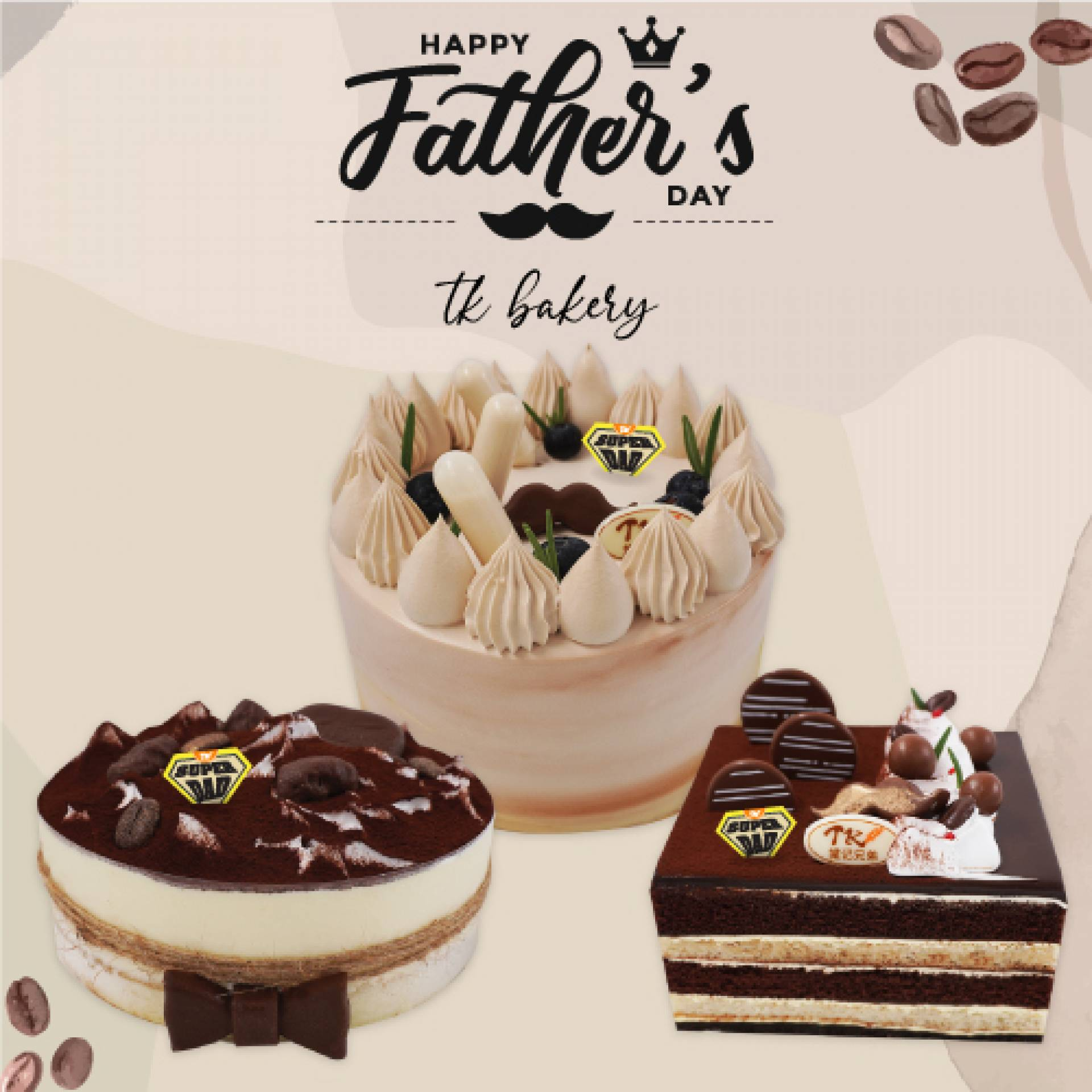 Father's Day Cake Series