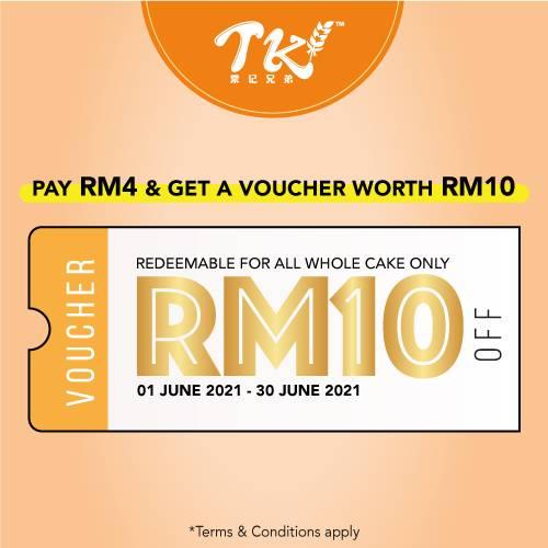 RM10 Whole Cake Voucher